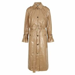 Rejina Pyo Wren Coated Cotton Trench Coat