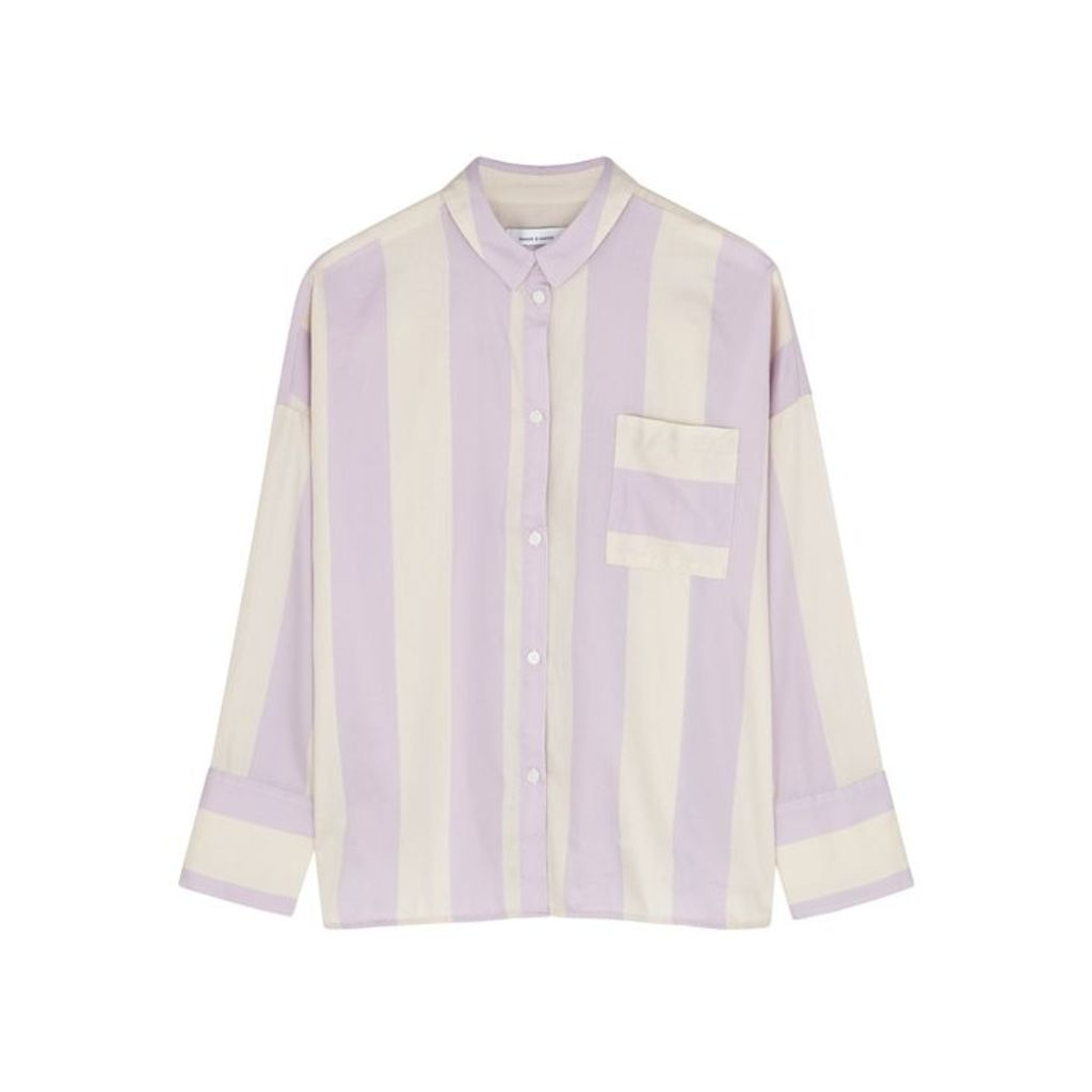 Samsøe & Samsøe Oana Striped Cotton Shirt