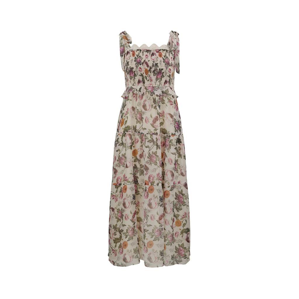 UNDRESS - Mabel Pastel Pink Kimono Top Midi Dress