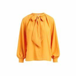 WtR - Delysia Yellow Bow Blouse