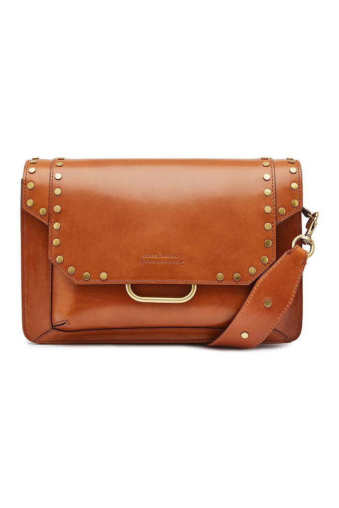 Isabel Marant Maskhia Leather Shoulder Bag