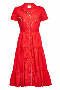 Stella Jean Cotton Midi Dress