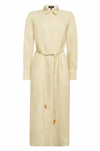 Theory Linen Shirt Dress