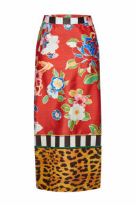 Stella Jean Printed Pencil Skirt