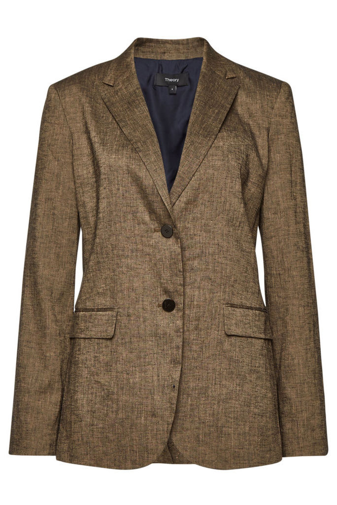 Theory Blazer with Linen