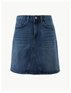 Per Una Denim Mini Skirt