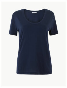 Per Una Pure Supima Cotton Straight T-Shirt