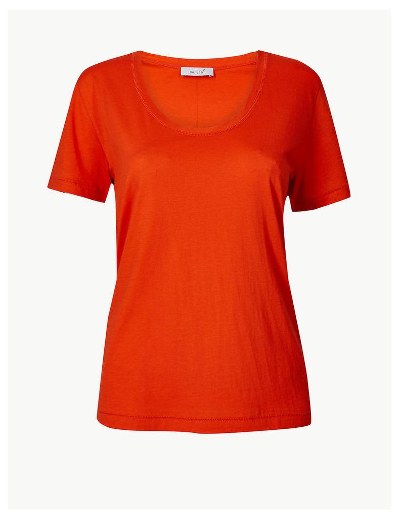 Per Una Pure Supima Cotton Straight T-Shirt