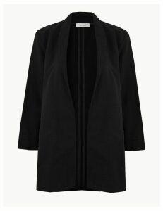 Per Una Cotton Rich Open Front Kimono