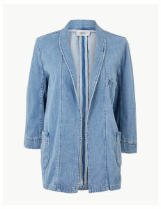 Per Una Patch Pocket Denim Kimono