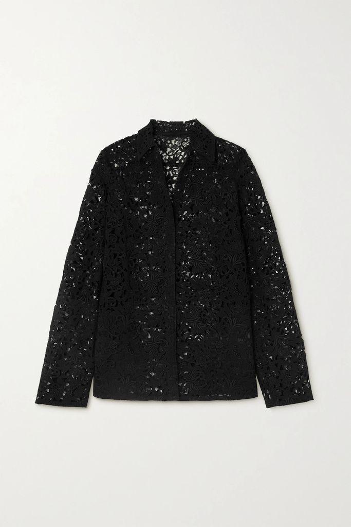 Temperley London - Obelisk Printed Stretch-cotton Midi Dress - Cream