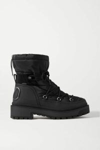 Tory Burch - Pleated Printed Voile Midi Dress - Orange