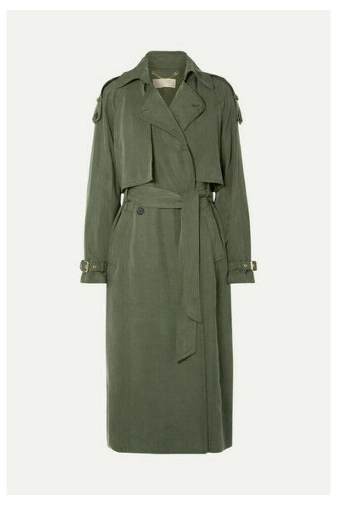 MICHAEL Michael Kors - Lyocell Trench Coat - Army green