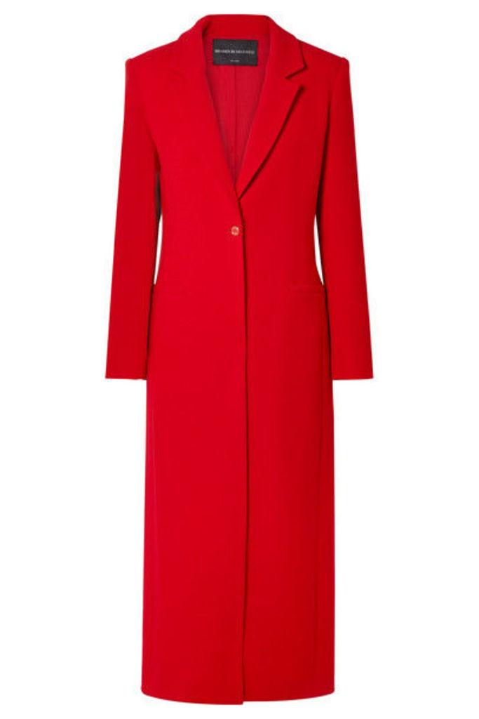 Brandon Maxwell - Wool-crepe Coat - Red