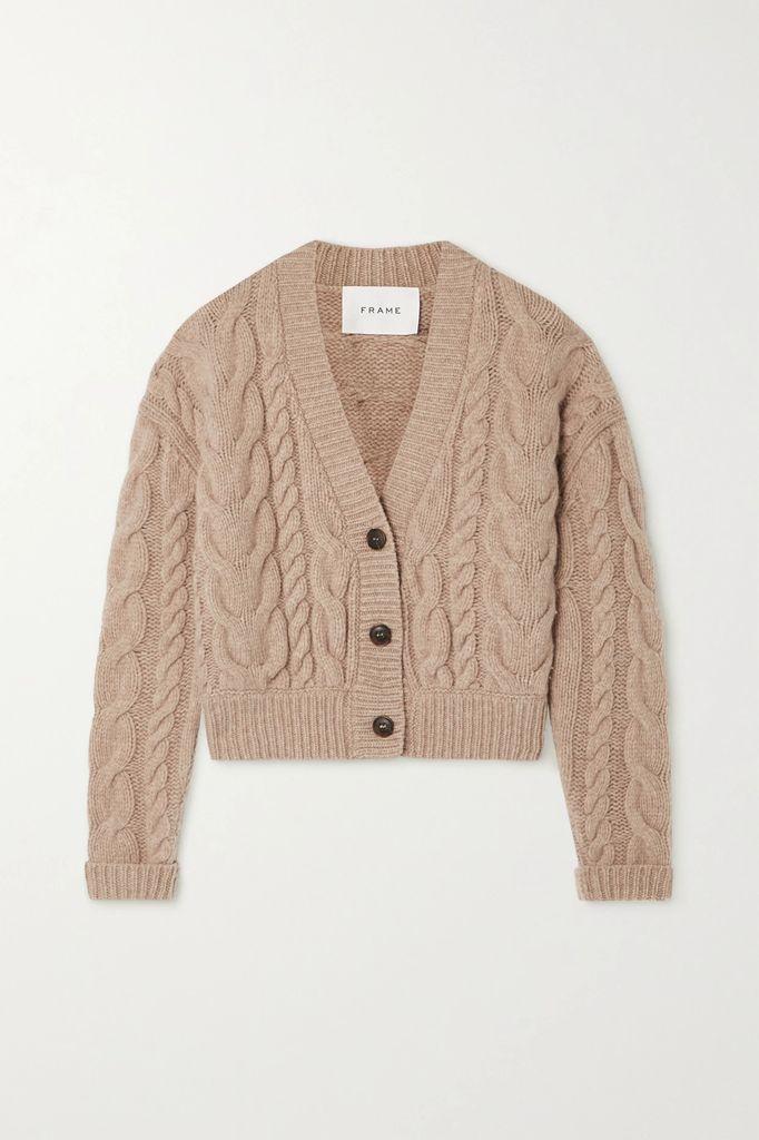 Loewe - Two-tone Leather Coat - Tan
