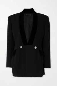 Loewe - Two-tone Leather Coat - Tan