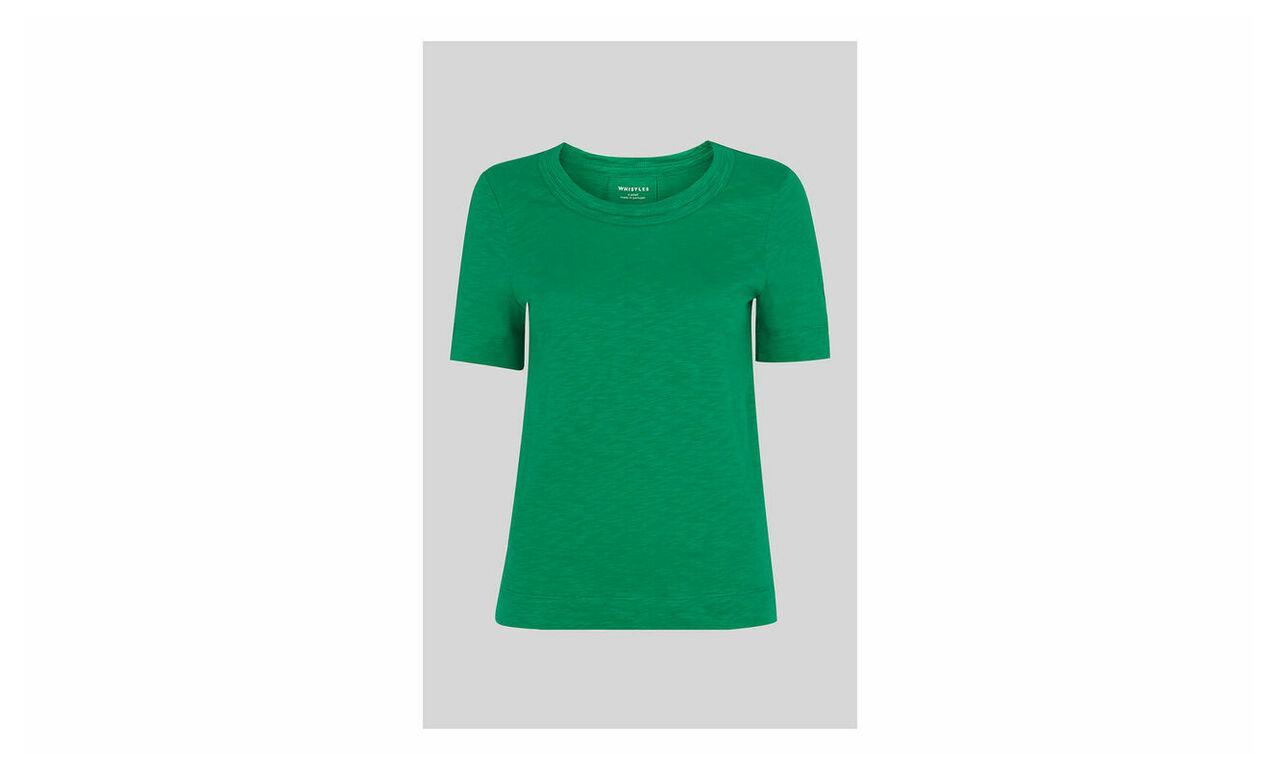 Rosa Double Trim T Shirt
