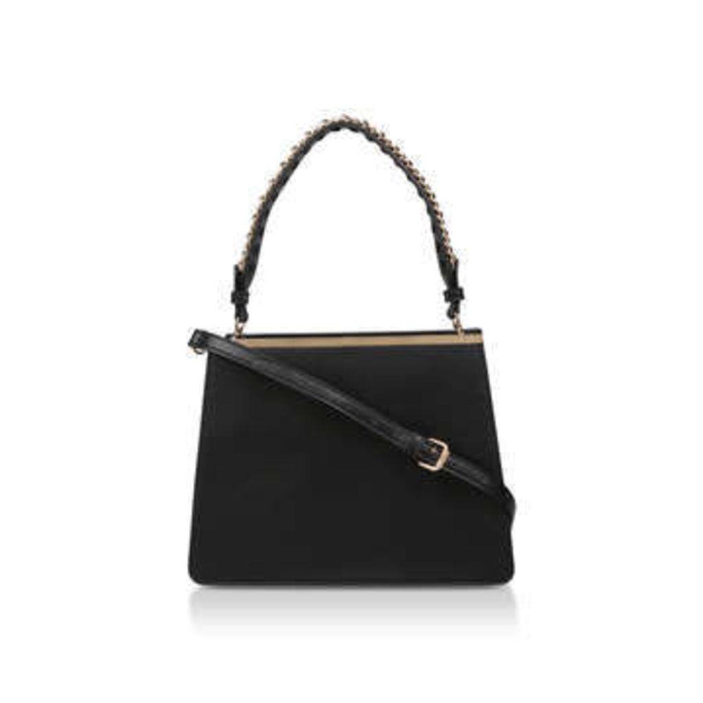 Aldo Enroerst - Black Chain Tote Bag