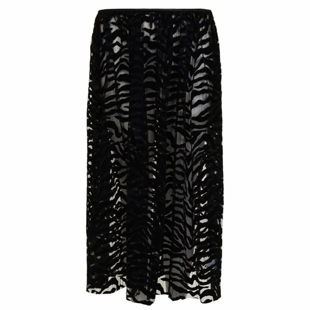 ASHLEY WILLIAMS Flock Printed Skirt