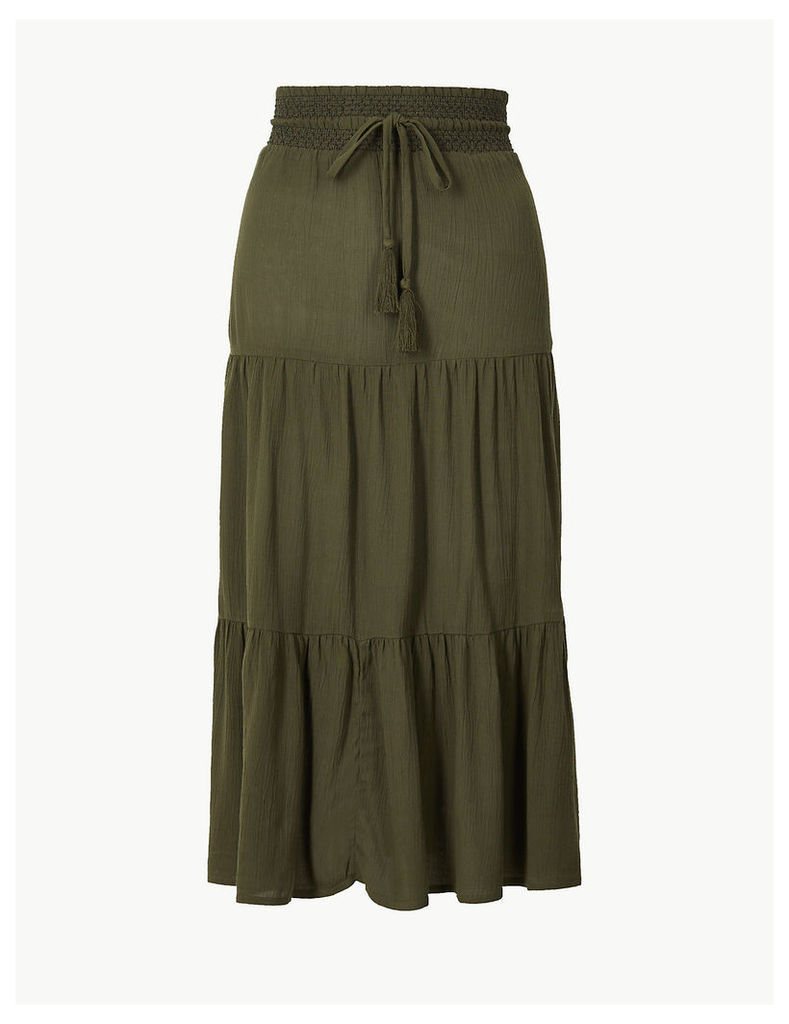 M&S Collection A-Line Midi Skirt