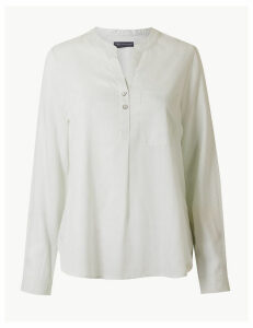 M&S Collection PETITE Striped Blouse