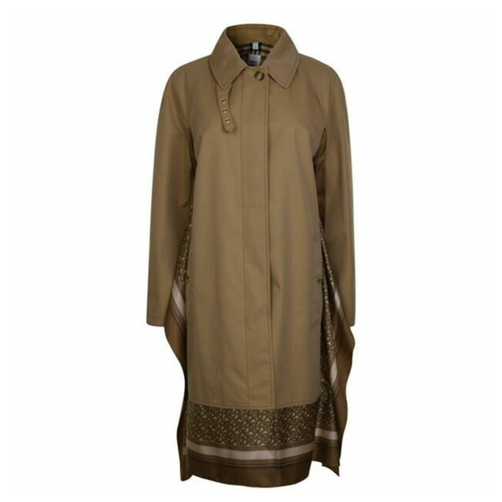 BURBERRY Scarf Trench Coat