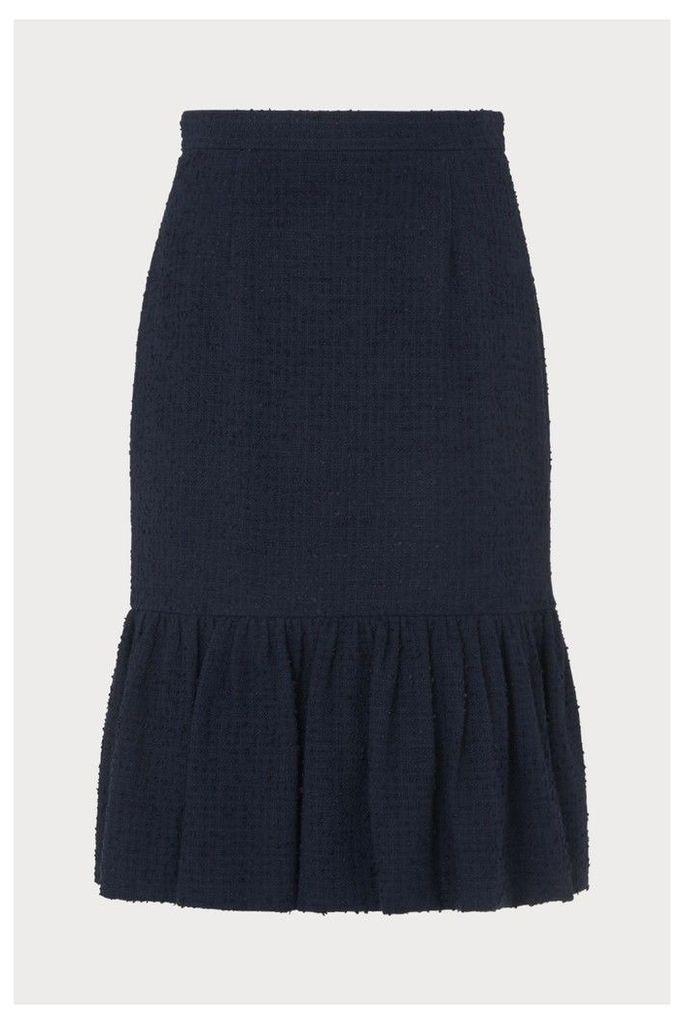 Womens L.K.Bennett Blue Ainsley Skirt -  Blue