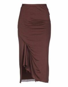 RICK OWENS LILIES SKIRTS 3/4 length skirts Women on YOOX.COM