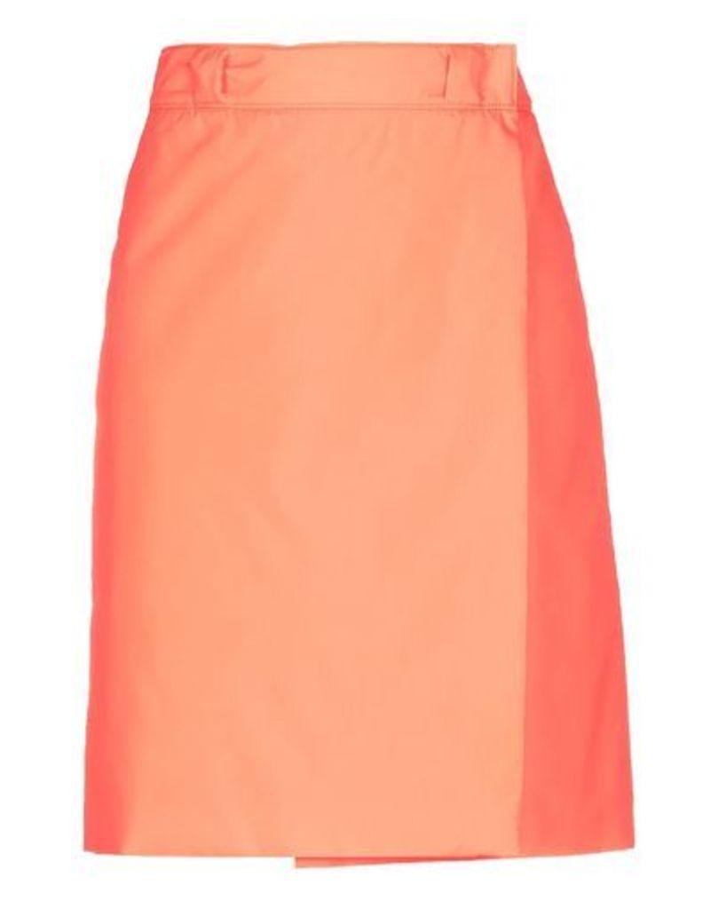 PRADA SKIRTS Knee length skirts Women on YOOX.COM