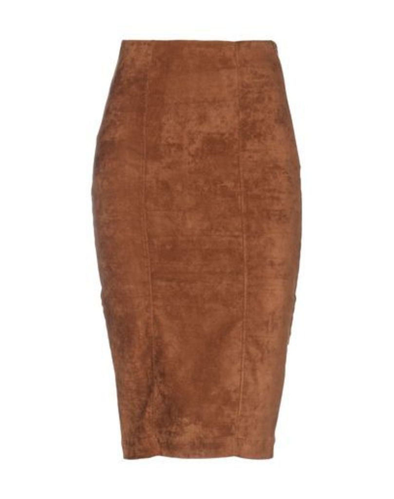8PM SKIRTS Knee length skirts Women on YOOX.COM