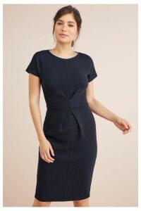 Womens Next Navy Bodycon Dress -  Blue