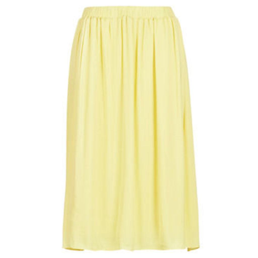 LPB Woman  AZITARME  women's Skirt in Yellow