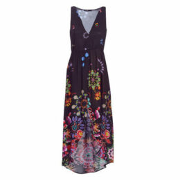 Desigual  MAGDA  women's Long Dress in Black
