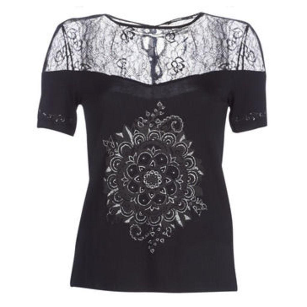 Desigual  CANNES  women's T shirt in Black