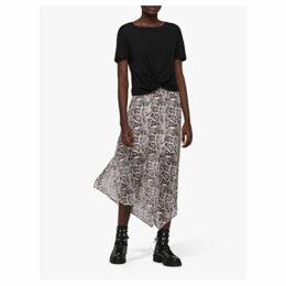 AllSaints Rhea Misra Skirt, White