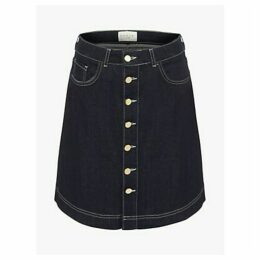 Damsel in a Dress Mea Denim Skirt, Blue
