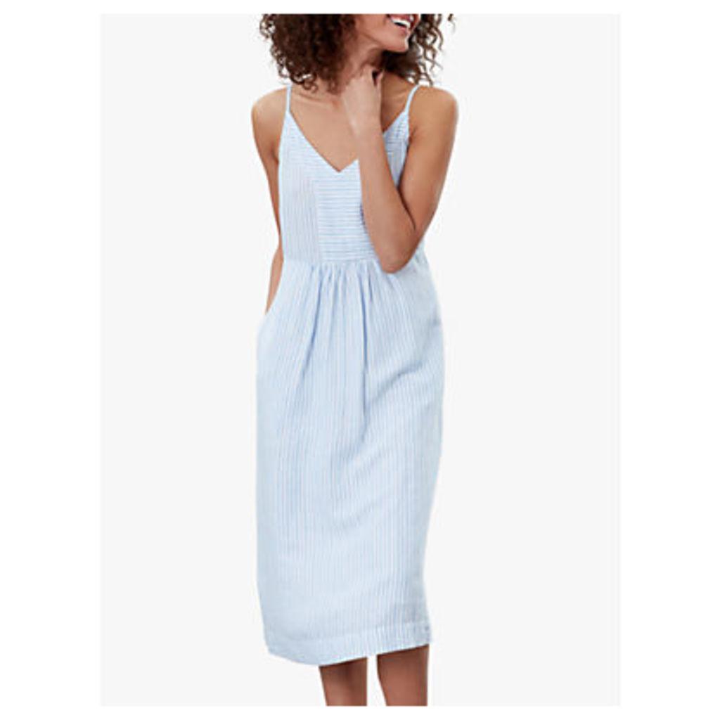 Joules Zoey Stripe Dress, Blue