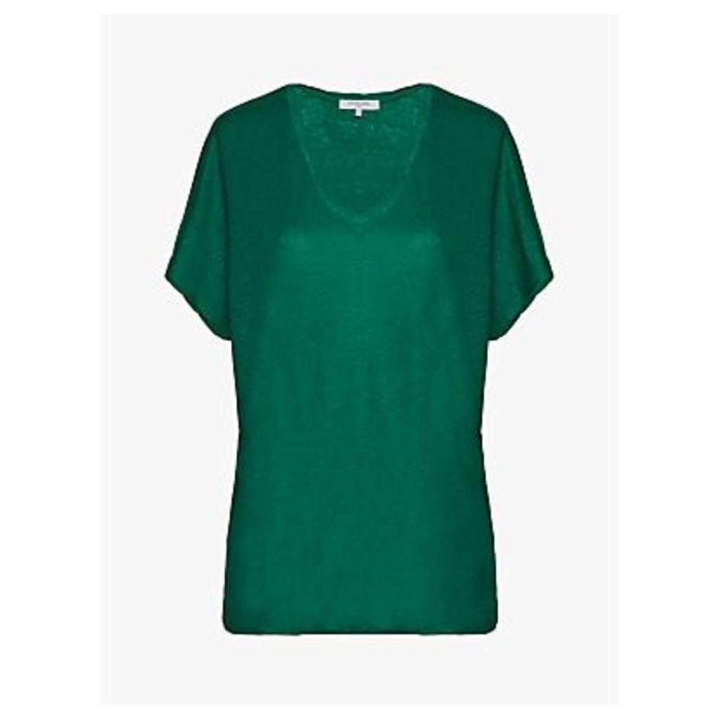 Gerard Darel Violette Linen T-Shirt