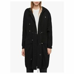AllSaints Bay Parka, Black