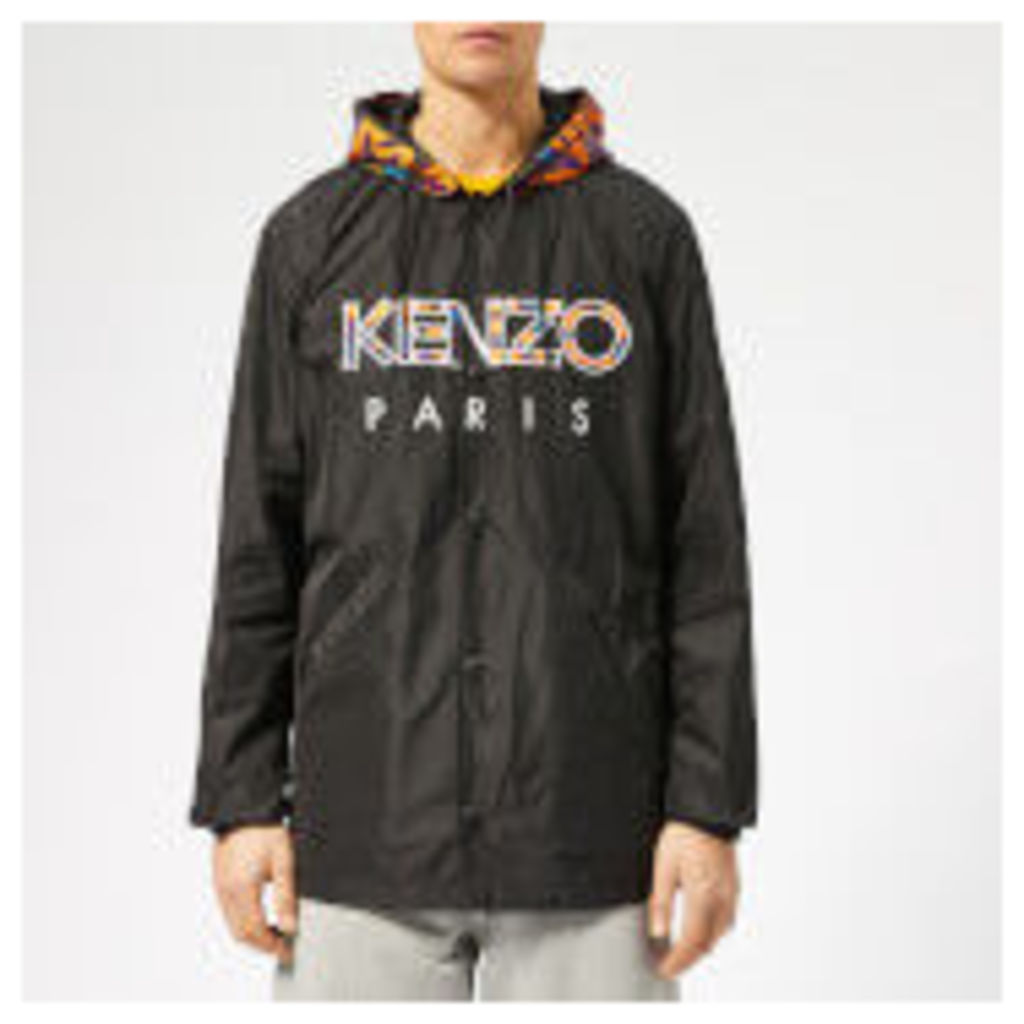 KENZO Men's Logo Coat - Black