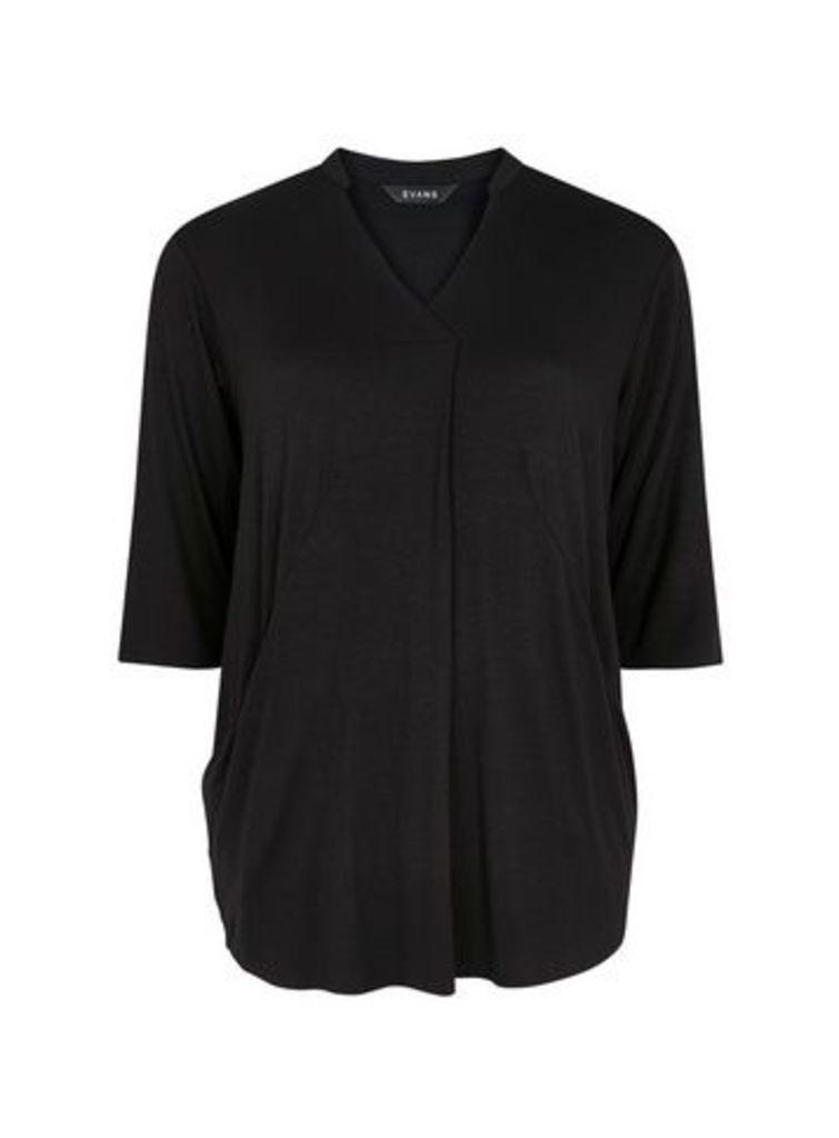 Black Jersey Tunic, Black