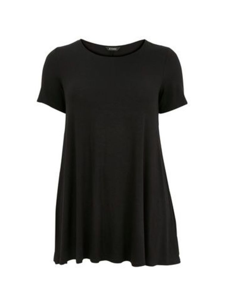 Black Swing Tunic, Black