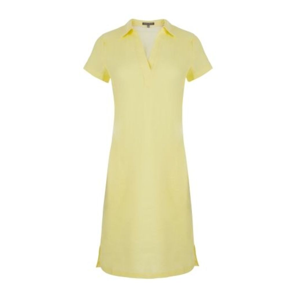 Citron Linen Tunic Dress
