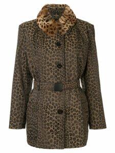 Fendi Pre-Owned long sleeve jacket - Brown