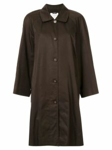 Chanel Pre-Owned oversized coat - Brown