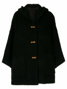 Gucci Pre-Owned longsleeve jacket coat - Black
