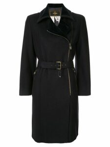 Fendi Pre-Owned belted coat - Blue