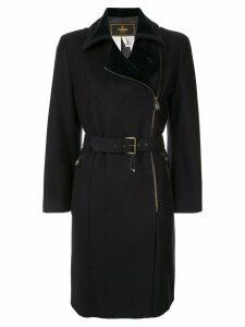 Fendi Pre-Owned belted coat - Blue
