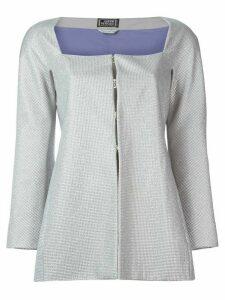 Versace Pre-Owned embellished jacket - Grey