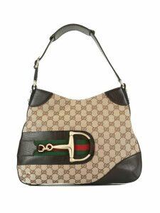 Gucci Pre-Owned Jackie GG pattern shoulder bag - Brown
